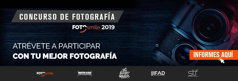 Convocatoria Concurso de Fotografía 2019 Fotosmile